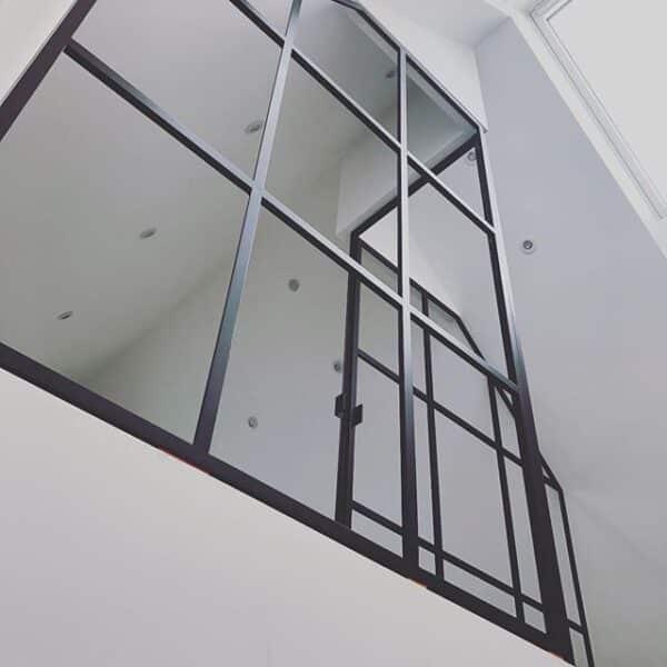 new yorker væg-glasvæg-glasvæg stue